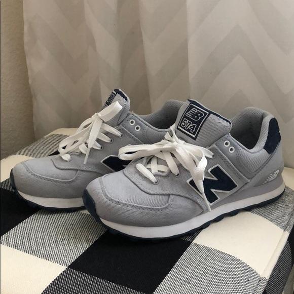 8fa4fc9f229d4 New Balance Shoes   574 Mens 65 Womens 758   Poshmark